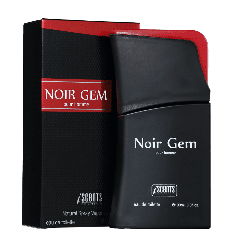 Perfume  Noir Gem I-Scents  - Masculino 100ml
