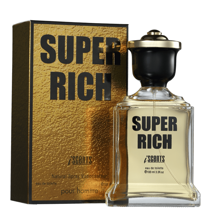 Perfume  Super Rich I-Scents Eau de Toilette - Masculino 100ml