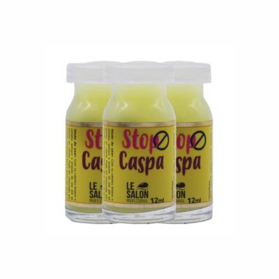 STOP CASPA AMPOLA LE SALON - KIT C/ 3 UNIDADES