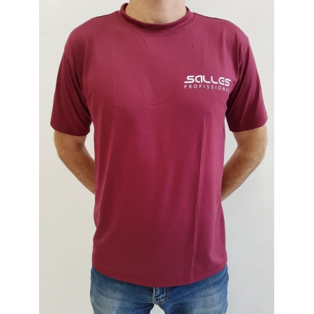 Camiseta Masculina Vinho Salles Profissional