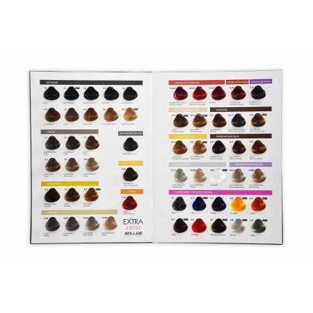 Cartela de Cores Extra Color Salles Profissional