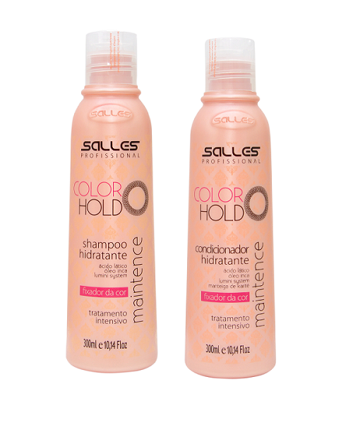Kit Color Hold Tratamento Shampoo 300ml + Condicionador 300ml