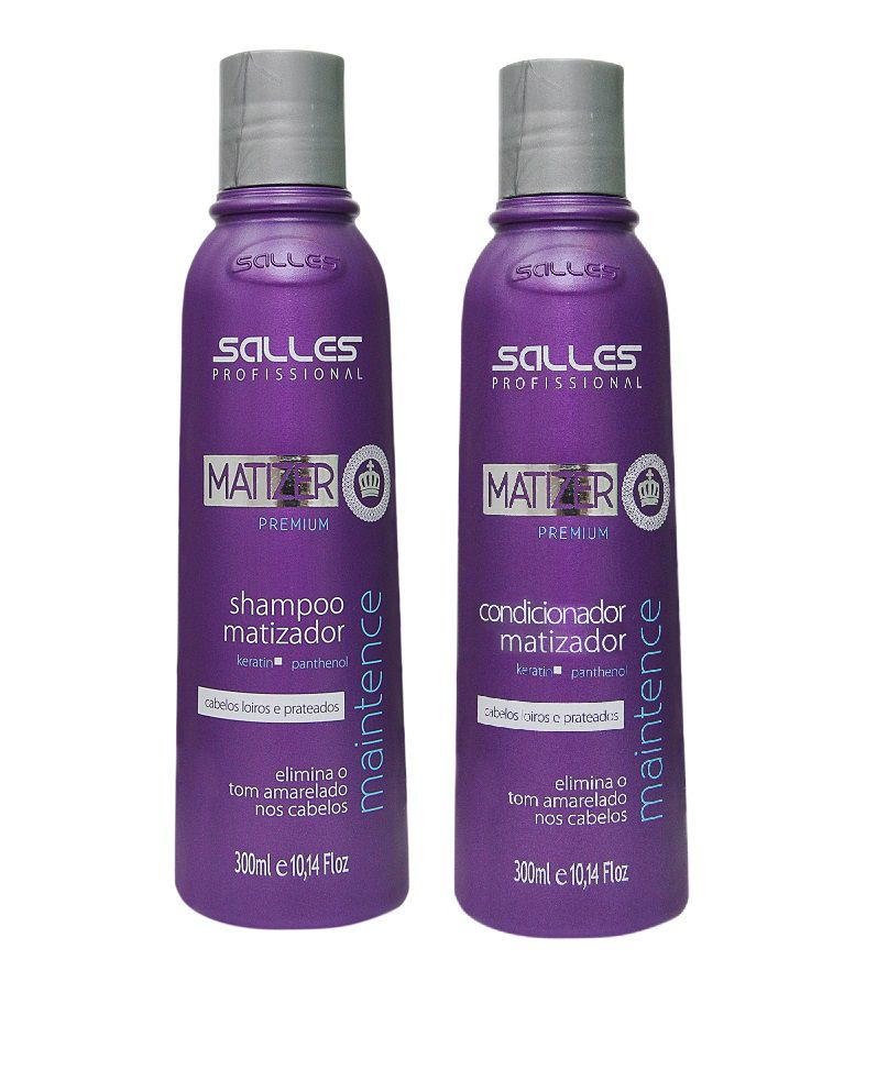 Kit Matizer Maintence Shampoo 300ml + Condicionador 300ml