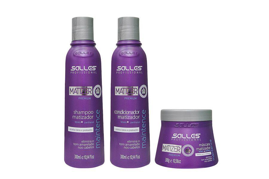 Kit Matizer Maintence Shampoo 300ml + Condicionador 300ml  + Máscara 300gr