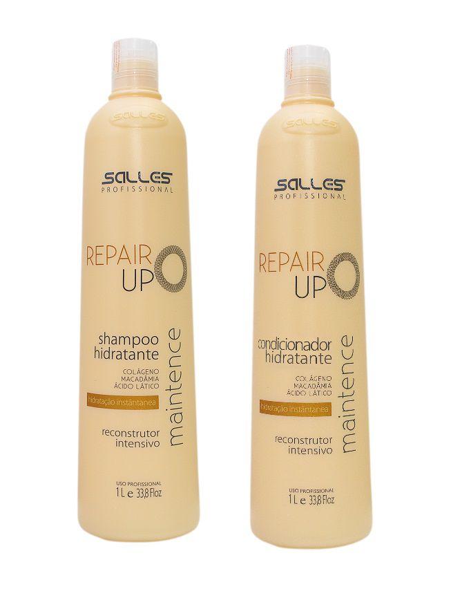 Kit Repair UP Maintence Shampoo 1 litro + Condicionador 1 litro