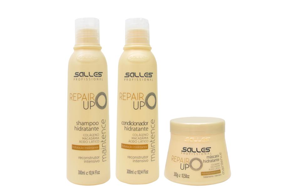Kit Repair UP Maintence Shampoo 300ml + Condicionador 300ml + Máscara 300gr