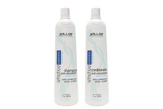 Kit Sensitive Control Shampoo 1 litro + Condicionador 1 Litro