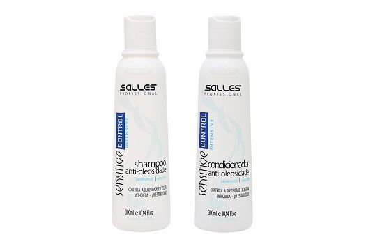 Kit Sensitive Control Shampoo 300ml + Condicionador 300ml