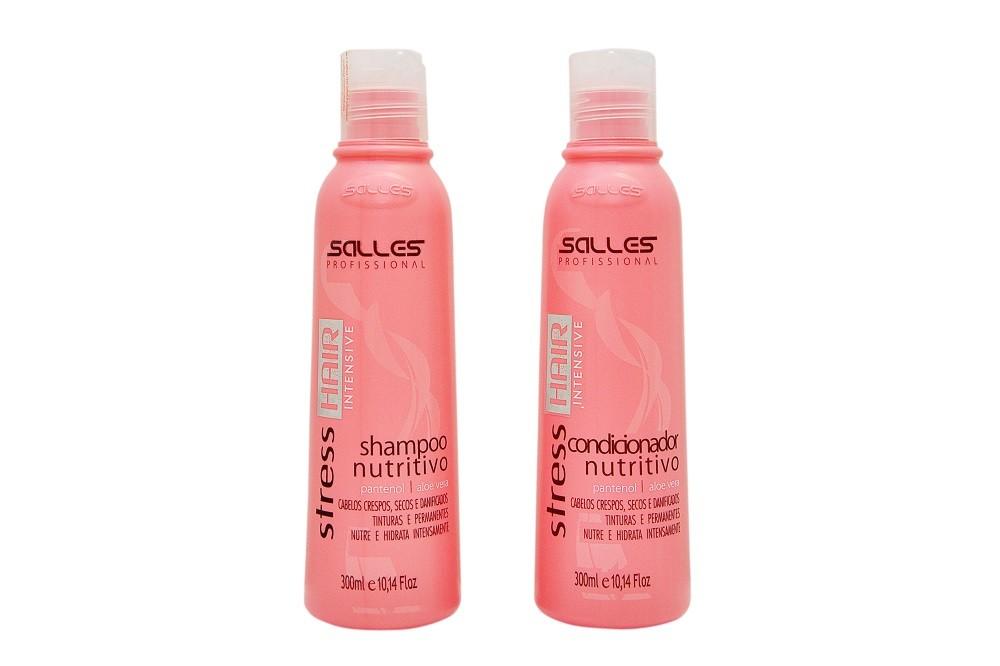 Kit Stress Hair Intensive Shampoo 300ml + Condicionador 300ml