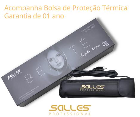 Prancha Titanium 460°F Bivolt Rose Gold Salles Pro