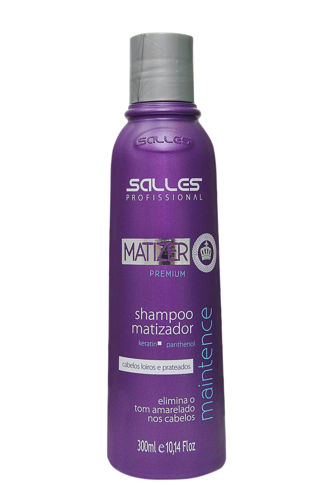 Shampoo Matizer Premium Salles Profissional 300ml