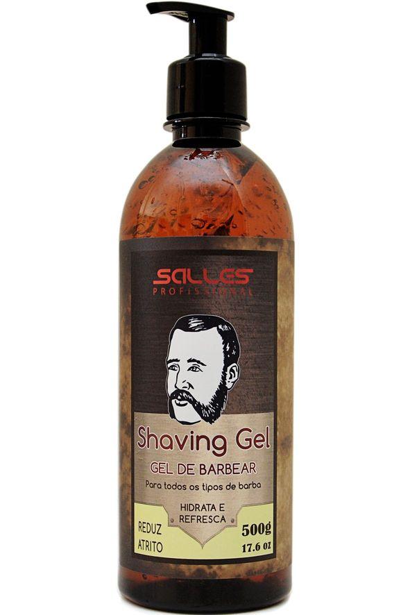 Shaving Gel de Barbear Salles Profissional 500gr