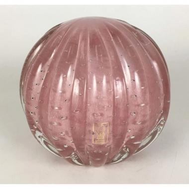 Bola Decorativa de Murano Rosa