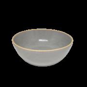 Bowl Cinza de Ceramica 05x15cm