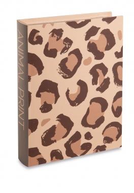 Caixa Livro Animal Print G