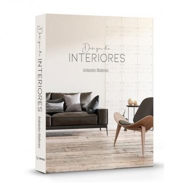 Caixa Livro Design de Interiores Modernos