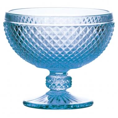 Jg 06 Taças de Sobremesa Bico de Jaca Azul 300ml