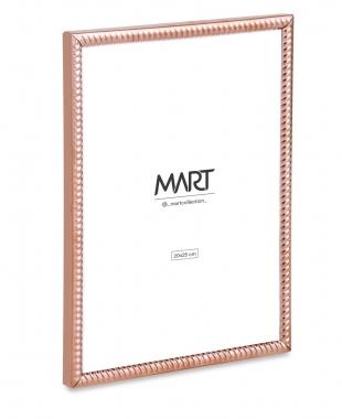 Porta Retrato Rose de Metal Ondulado 20x25