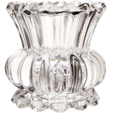 Vaso de Vidro Transparente 10cm