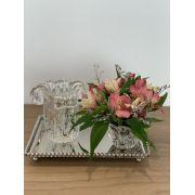 Vaso Fiori de Murano Transparente 13cm