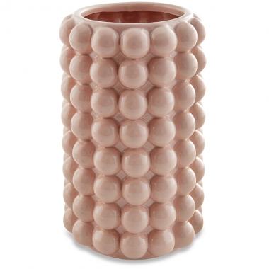 Vaso Rose Bolas de Ceramica 21cm