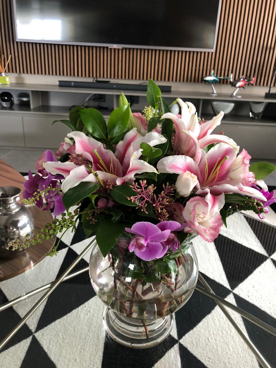 Arranjo de Flores Especial Dia das Mães Louise