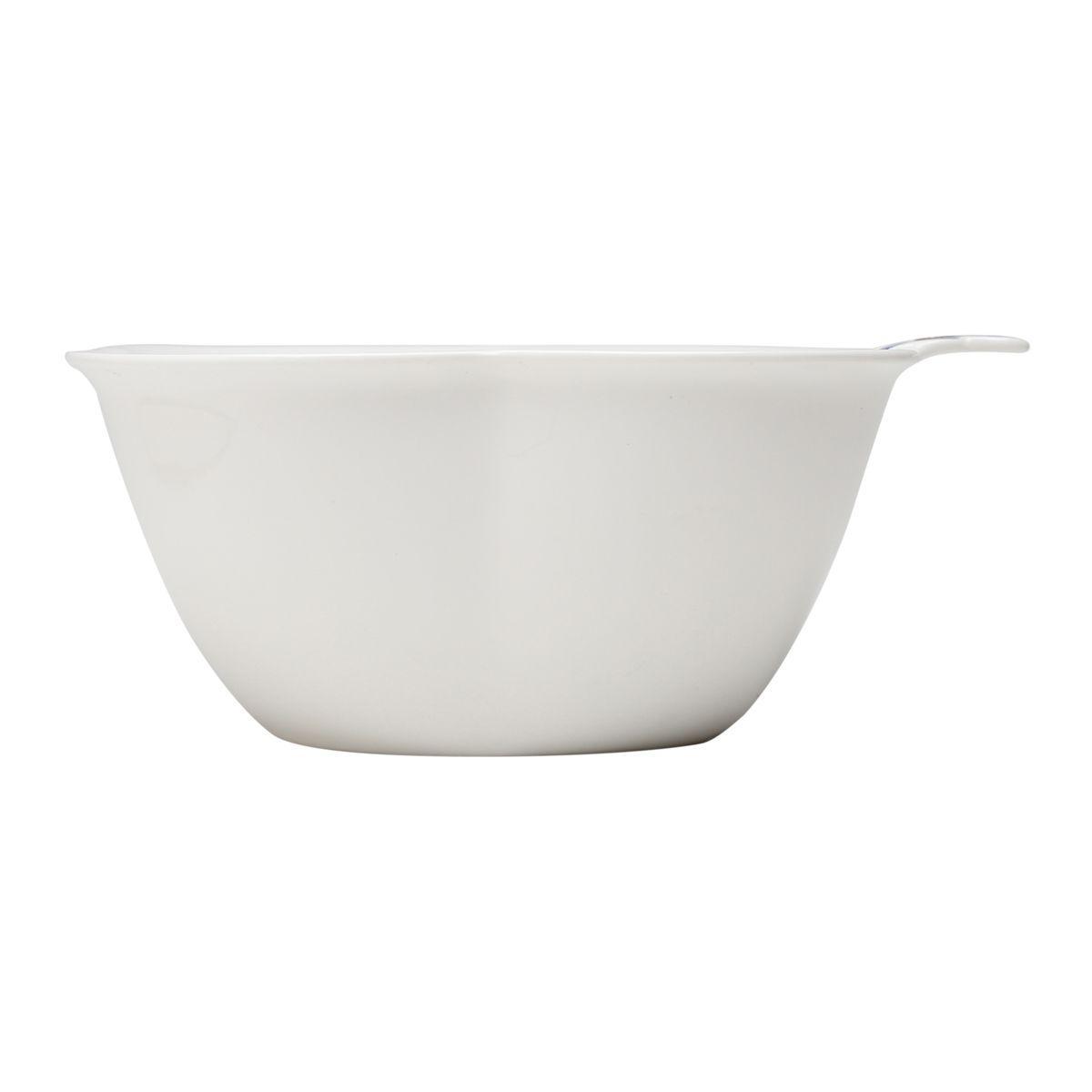 Bowl de Borboleta Azul de Porcelana 23cm Wolff
