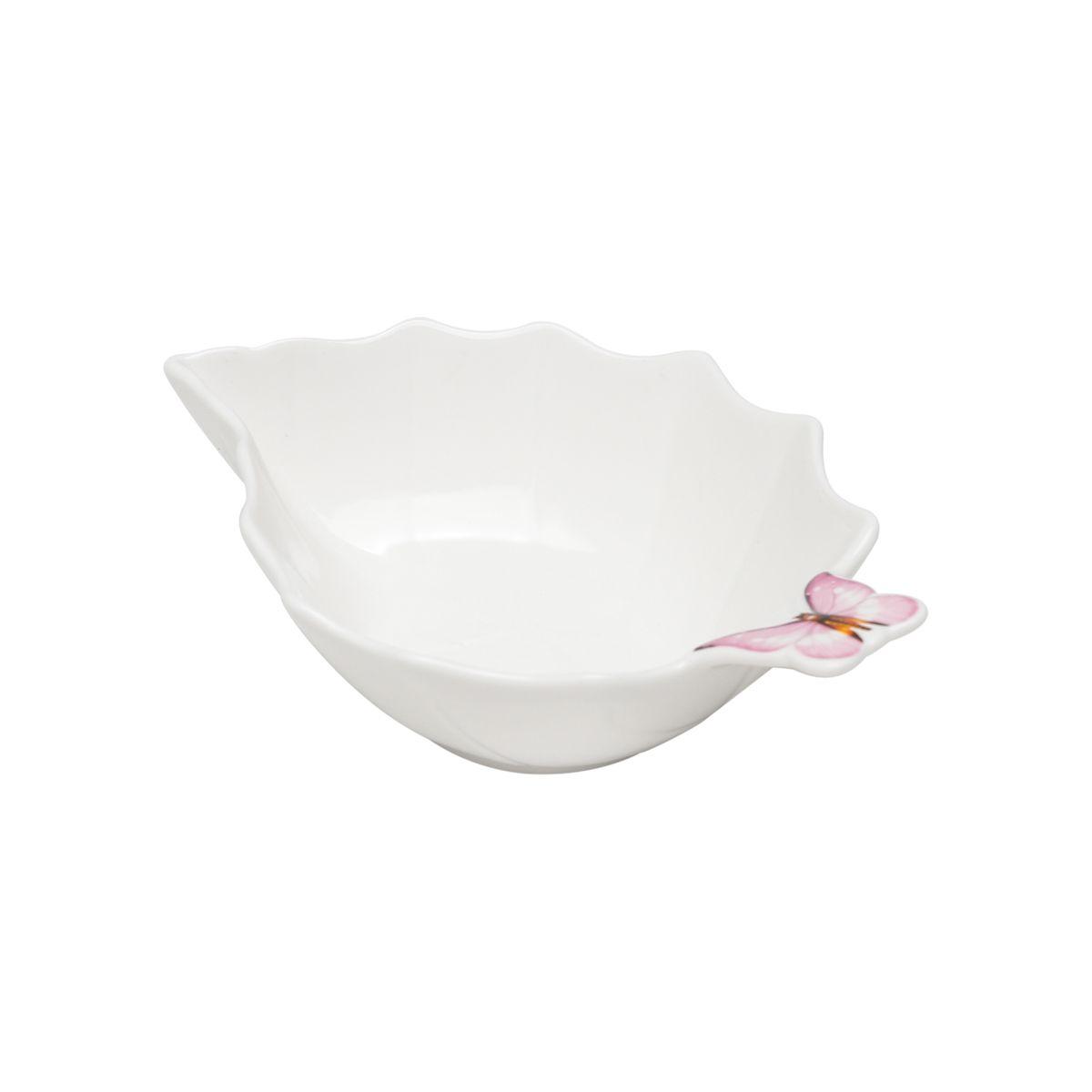 Bowl de Borboleta Rosa de Porcelana 18cm Wolff