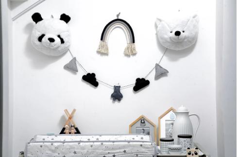 Cabeça de Urso Polar de Pelucia