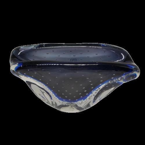 Cachepo de Murano Azul Oxford