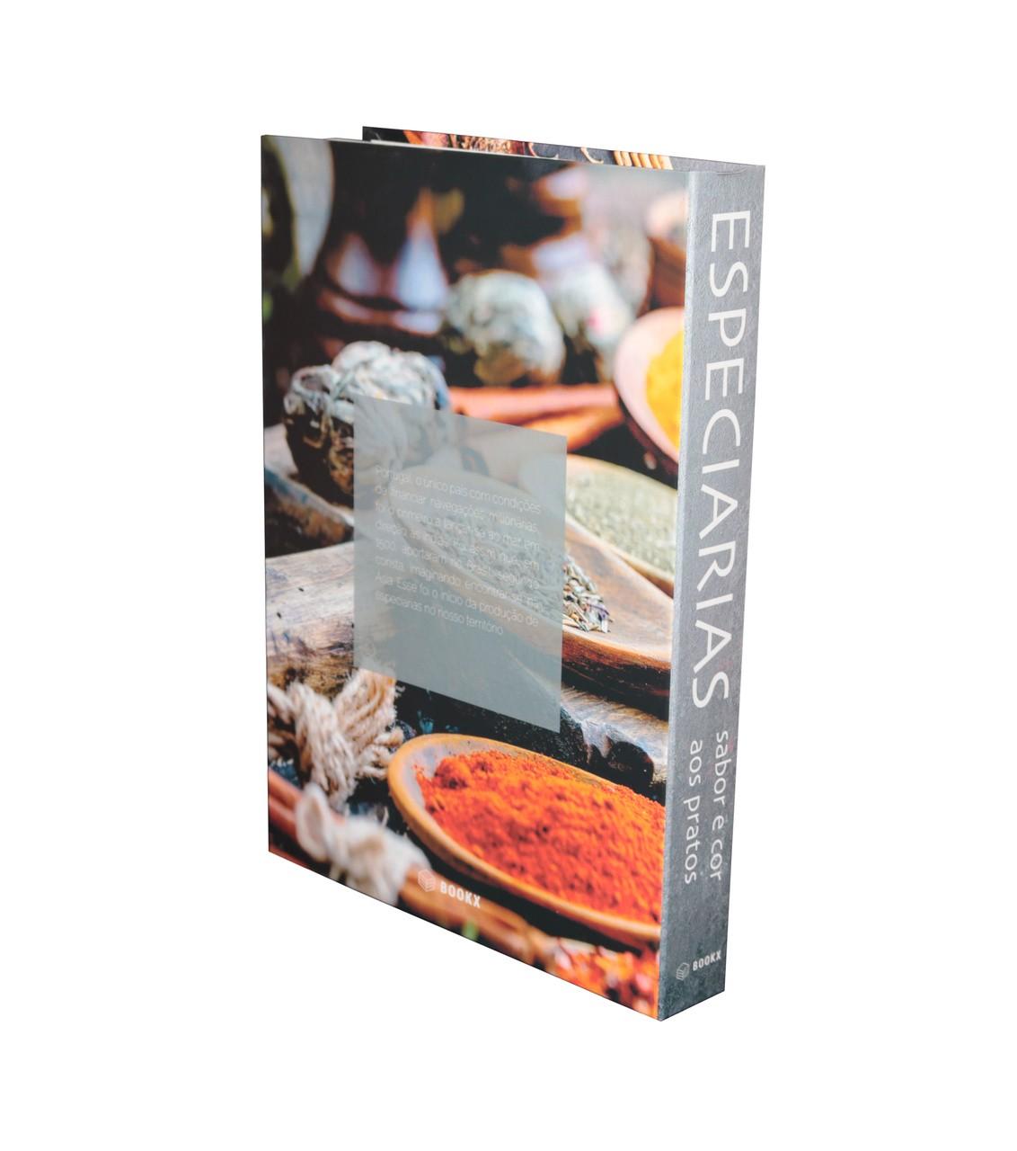 Caixa Livro Especiarias