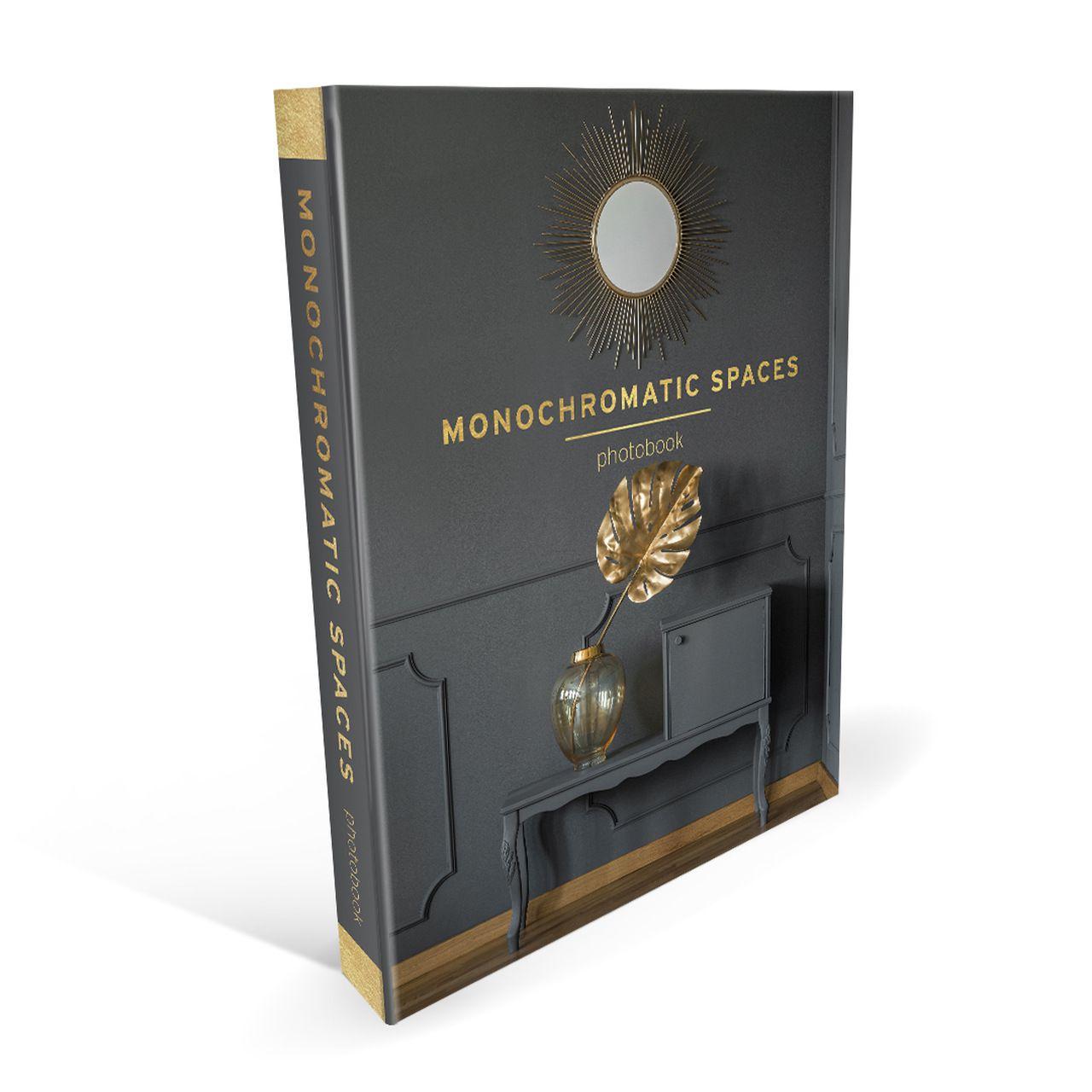 Caixa Livro Monochromatic Spaces