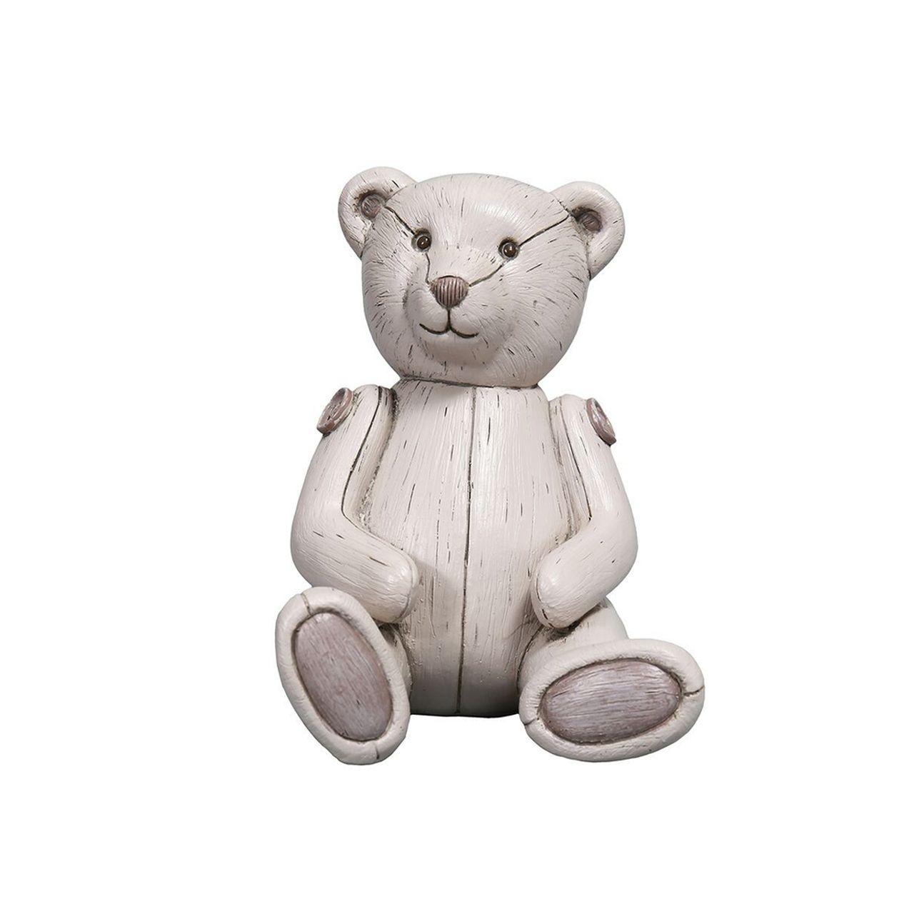 Cofre Urso de Ceramica