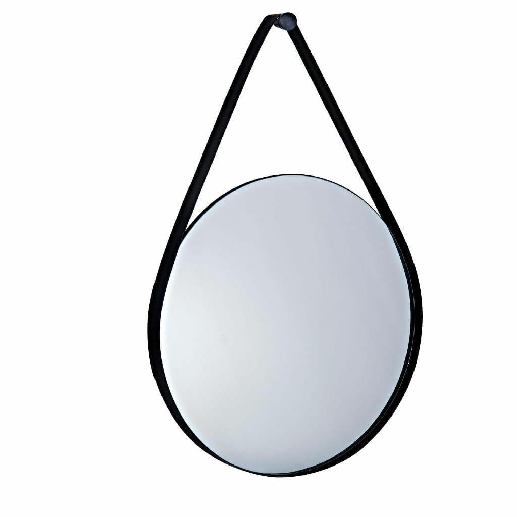 Espelho Preto em Metal