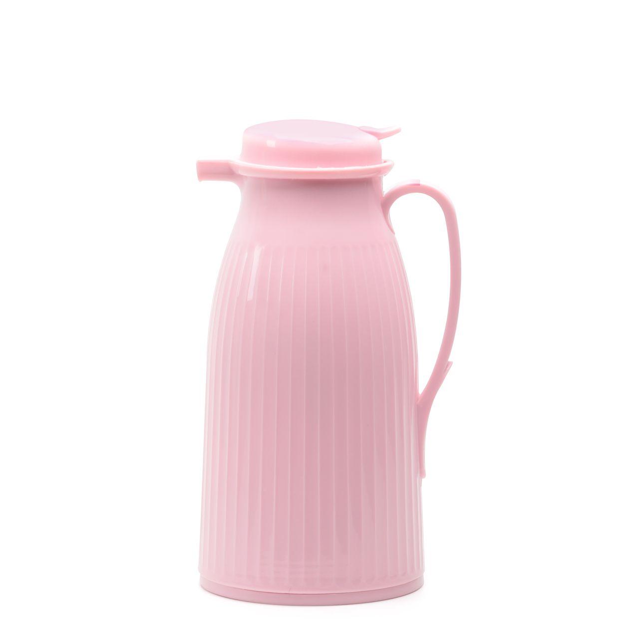 Garrafa Termica Rosa Candy Color 1L