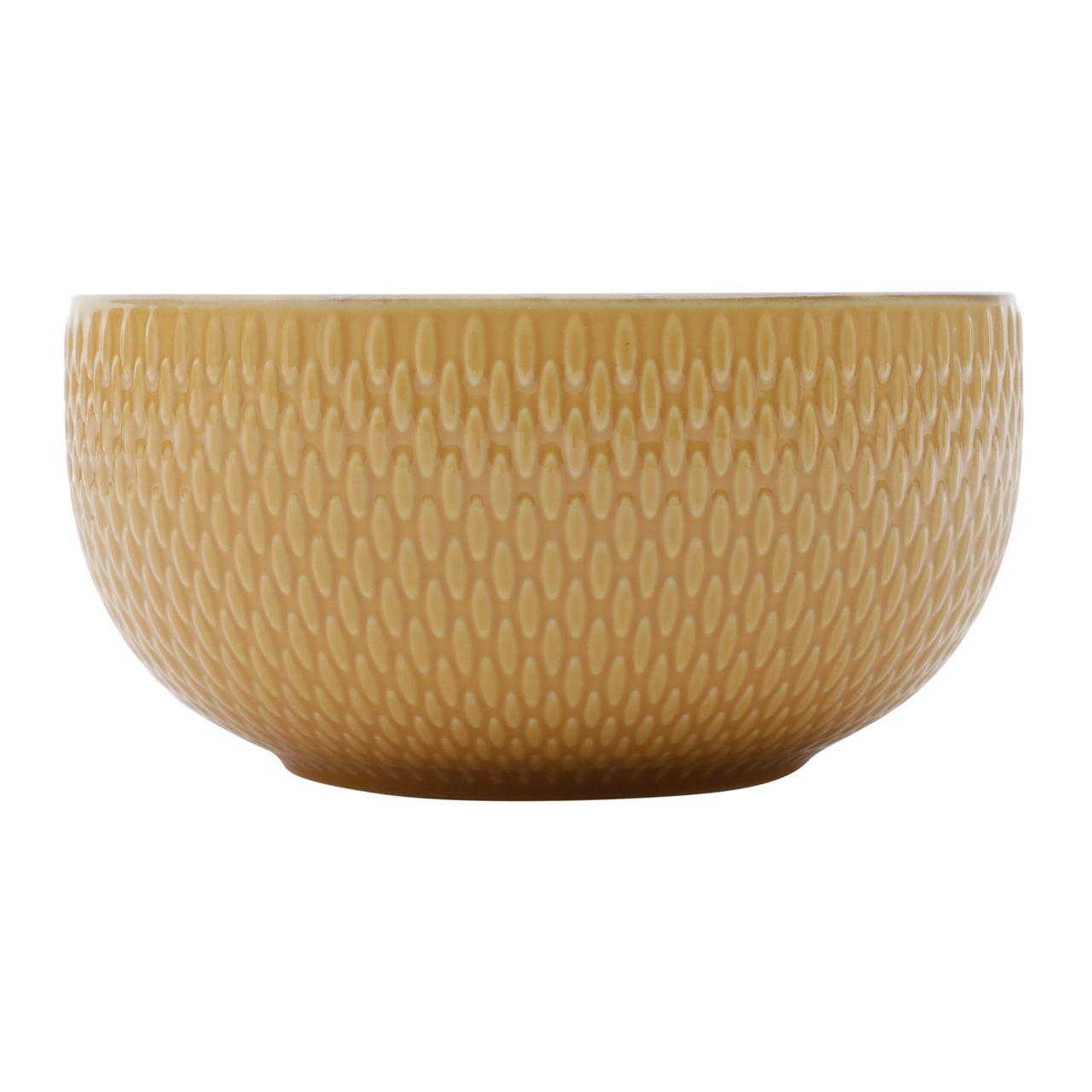 Jg 02 Bowls Amarelo de Porcelana 700ml