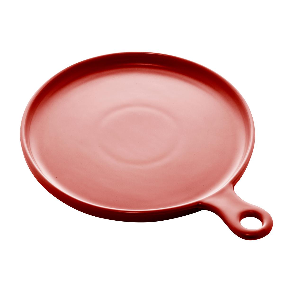 Jg 02 Travessas de Porcelana Nordica Vermelha