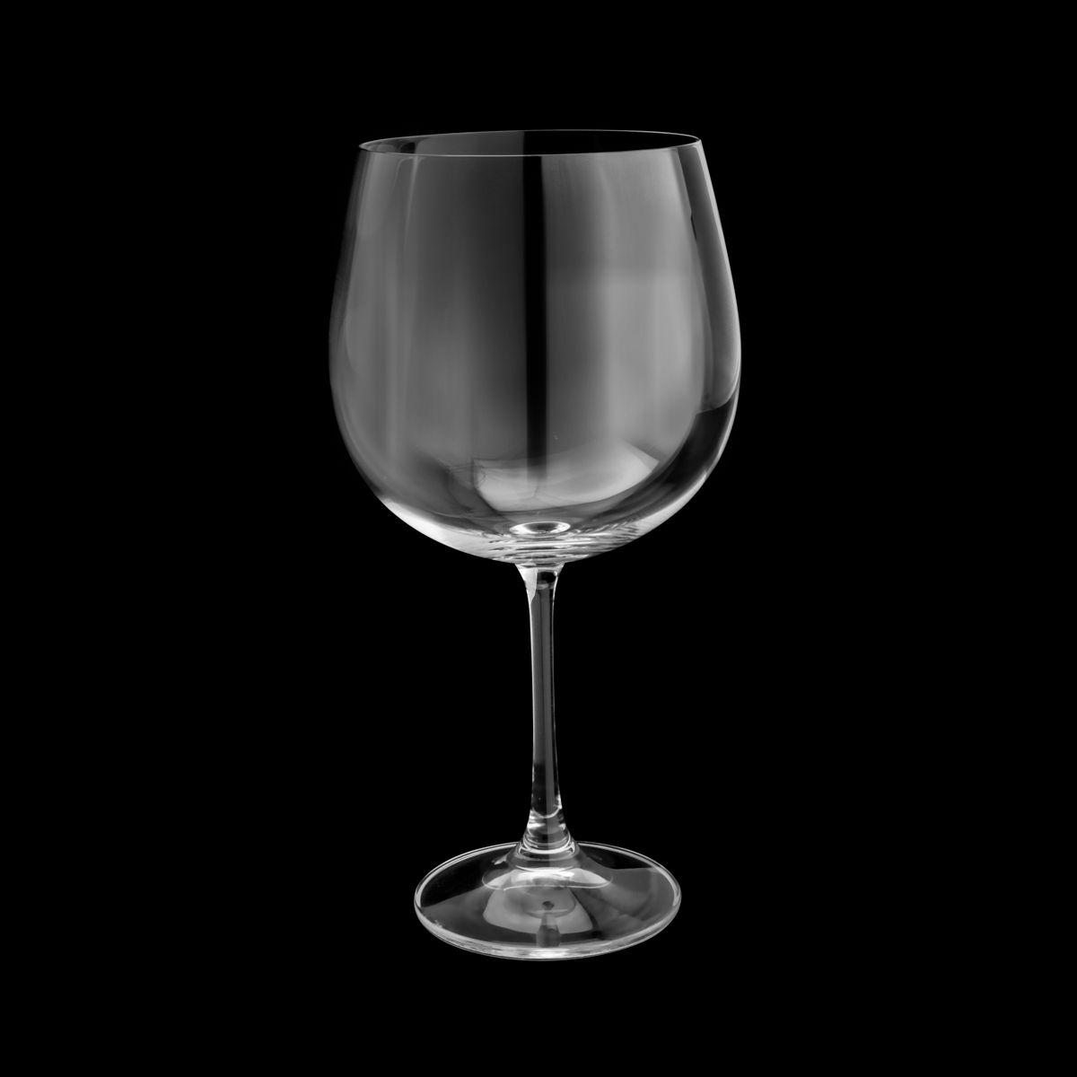 Jg 06 Taças p/ Gin Luxo 670ml de Cristal Bohemia