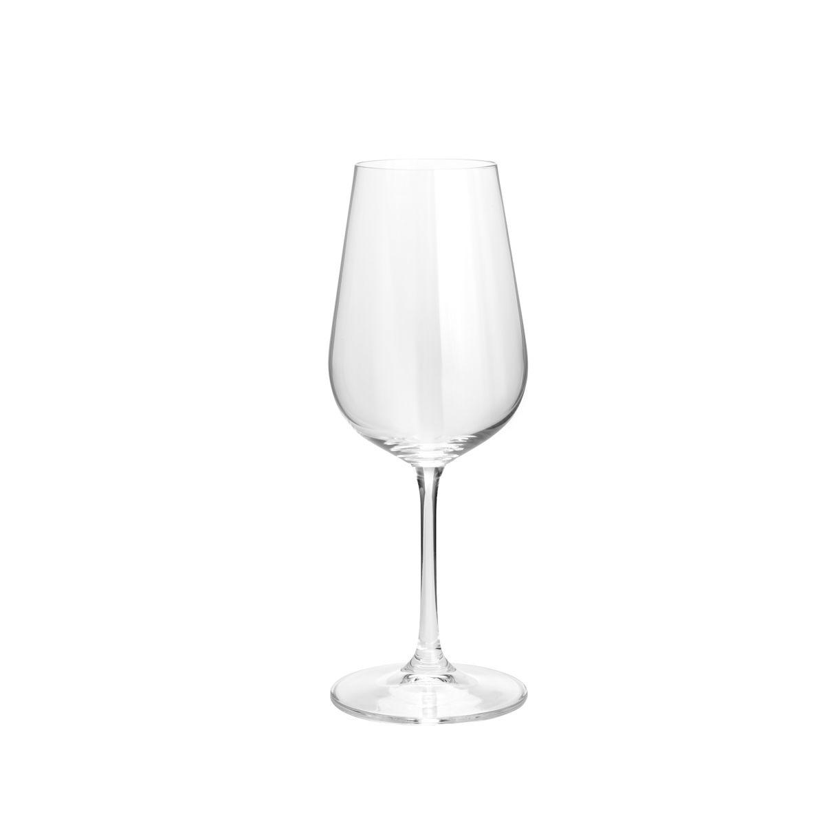 Jg 06 Taças p/ Vinho Branco Strix 360ml de Cristal Bohemia