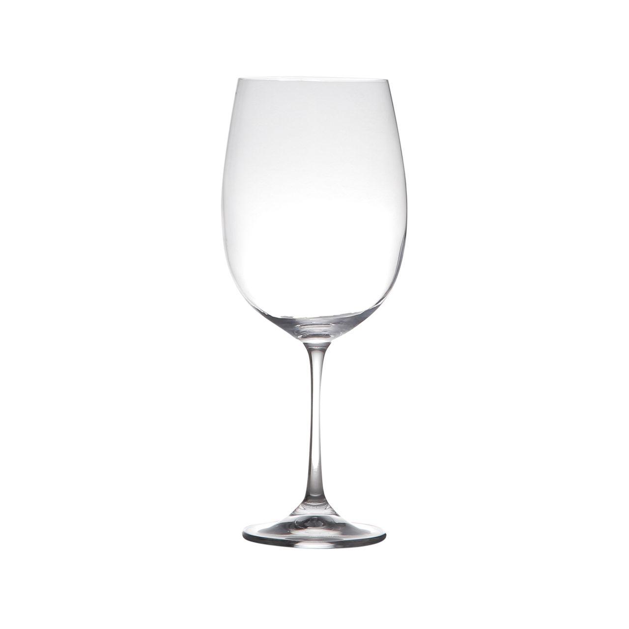 Jg 06 Taças p/ Vinho Luxo Milvus 640ml de Cristal Bohemia