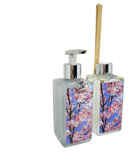 Kit Lavabo Chery Blossom 250ml