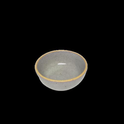 Mini Bowl Cinza de Ceramica 03x09cm