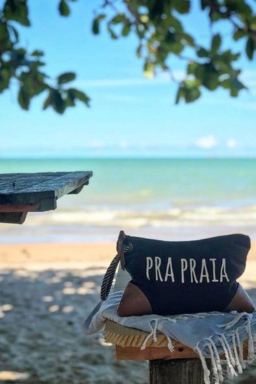 """Necessaire """"Pra Praia"""""""