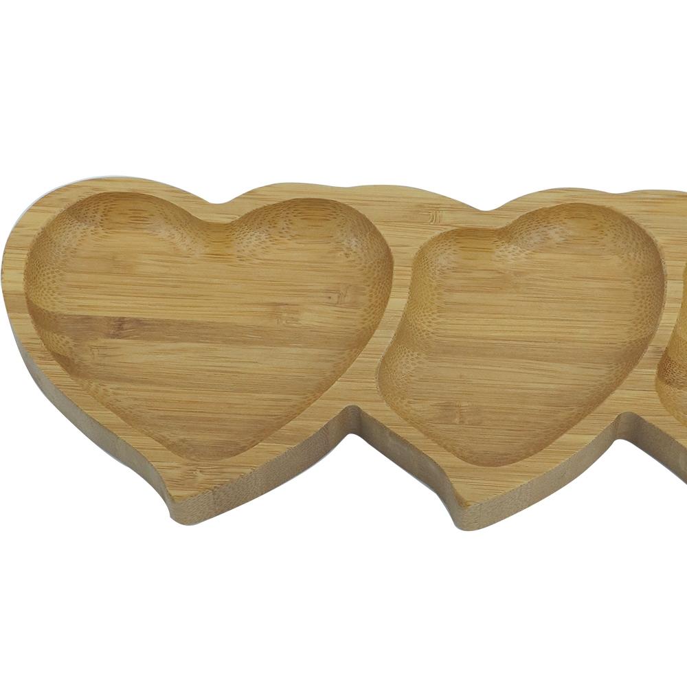 Petisqueira Coração Bambu
