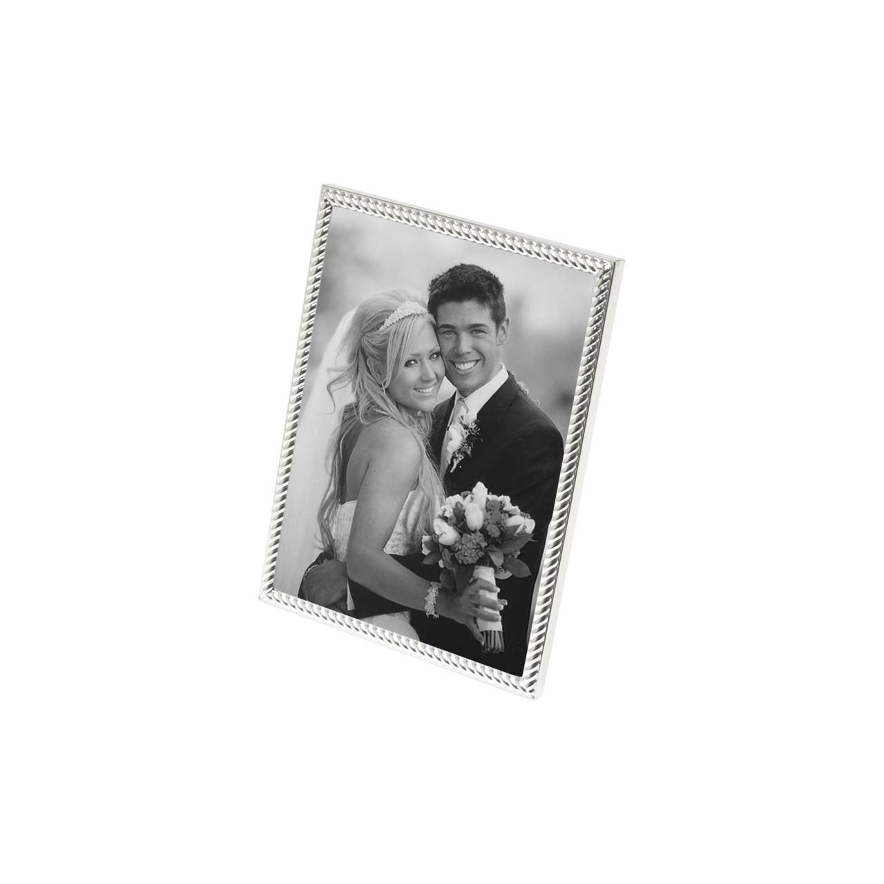 Porta Retrato De Aço Tress 20x25