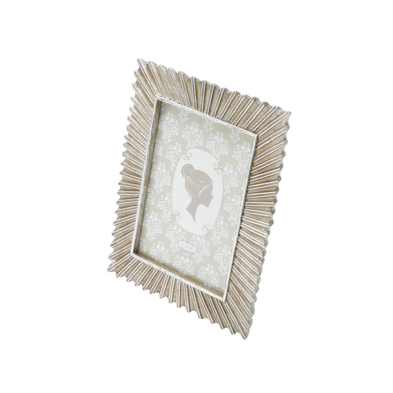 Porta Retrato de Metal Rustico 10x15cm