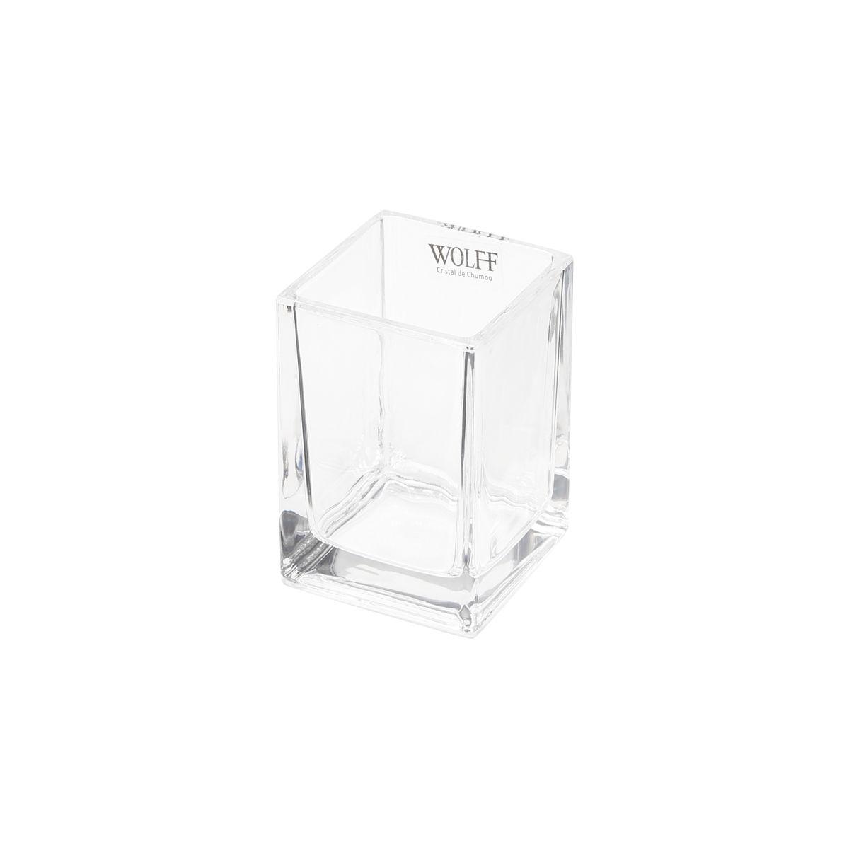 Porta Talheres de Cristal de Chumbo e Aço Inox Torcello Wolff