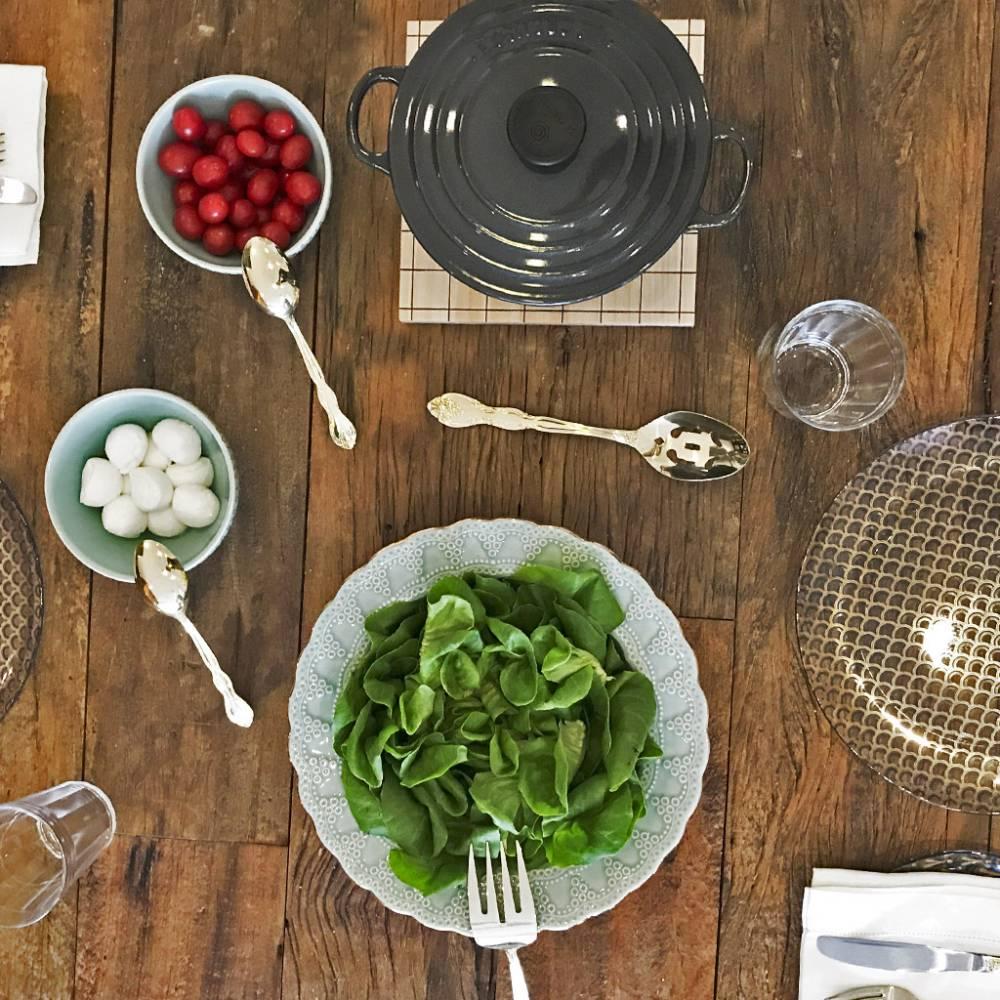 Saladeira Finito Verde Menta