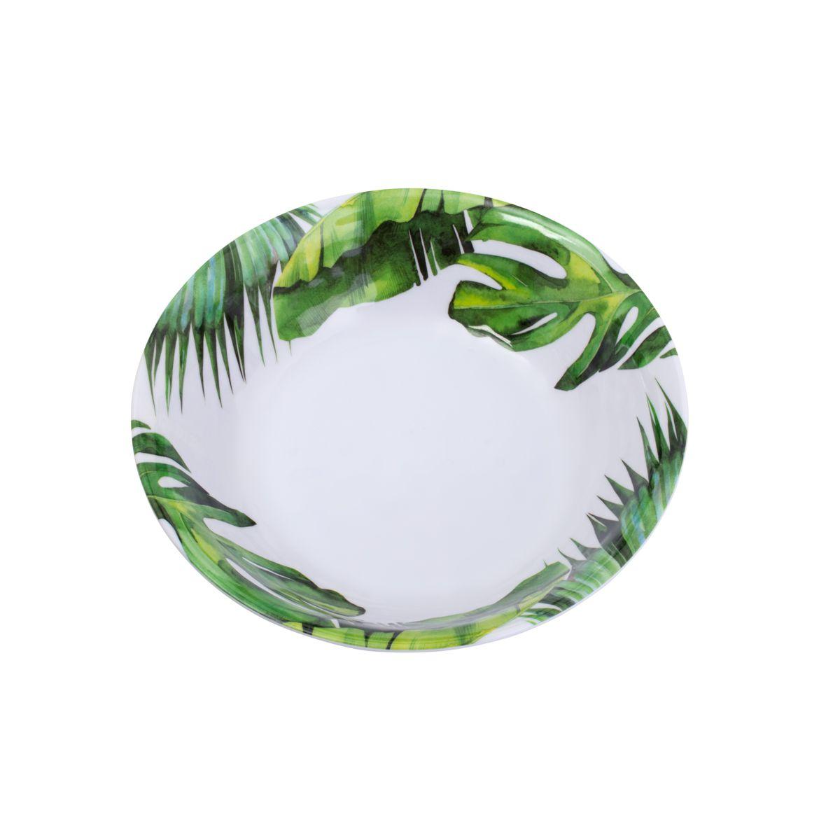Saladeira Folhas de Melamina 35cm