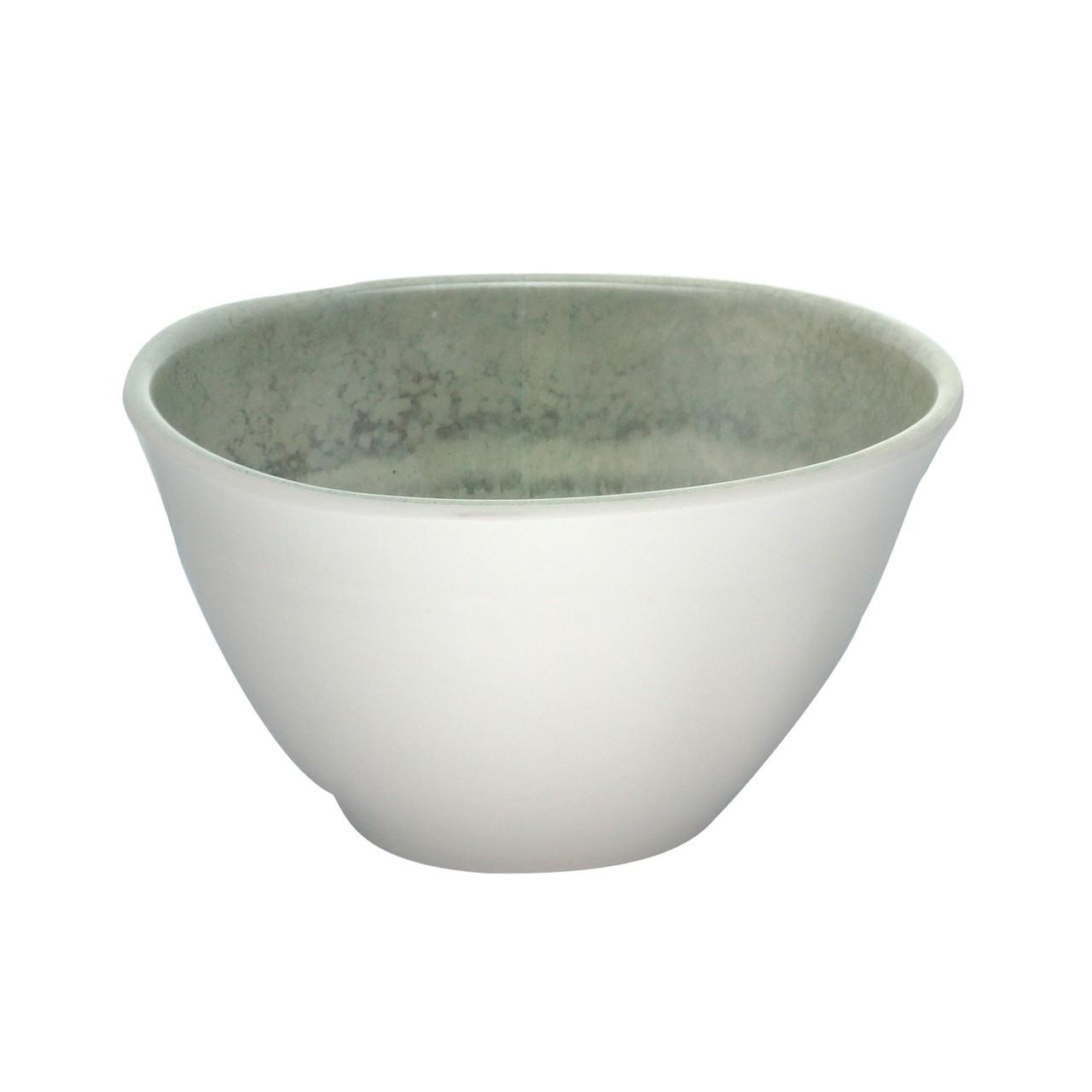 Saladeira Melamina Aqua - Cinza 25 cm
